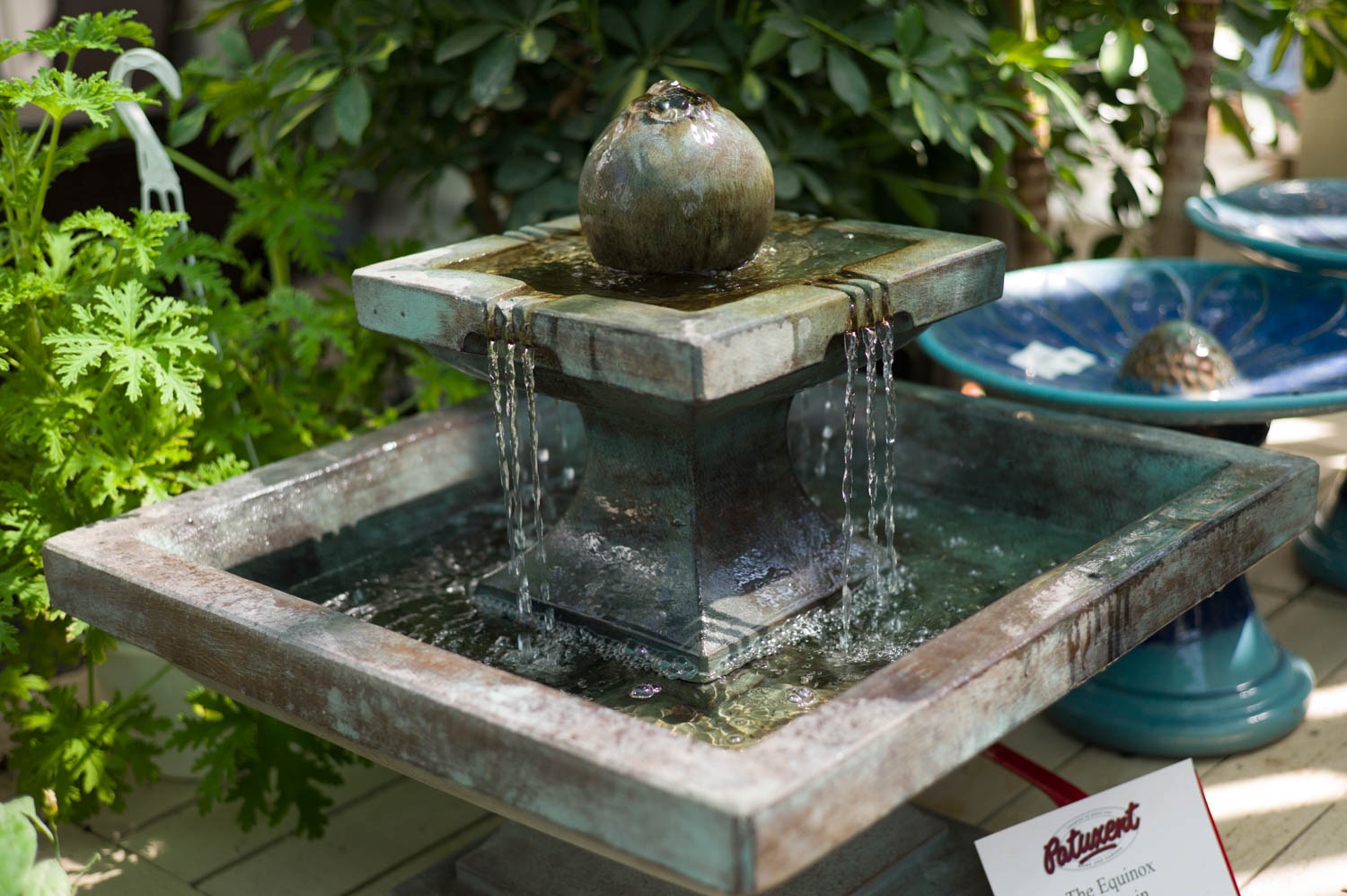 Outdoor Statuary and Fountains - Outdoor Fountains - Landscape Fountains - Water Features - Patuxent Nursery, Bowie, MD