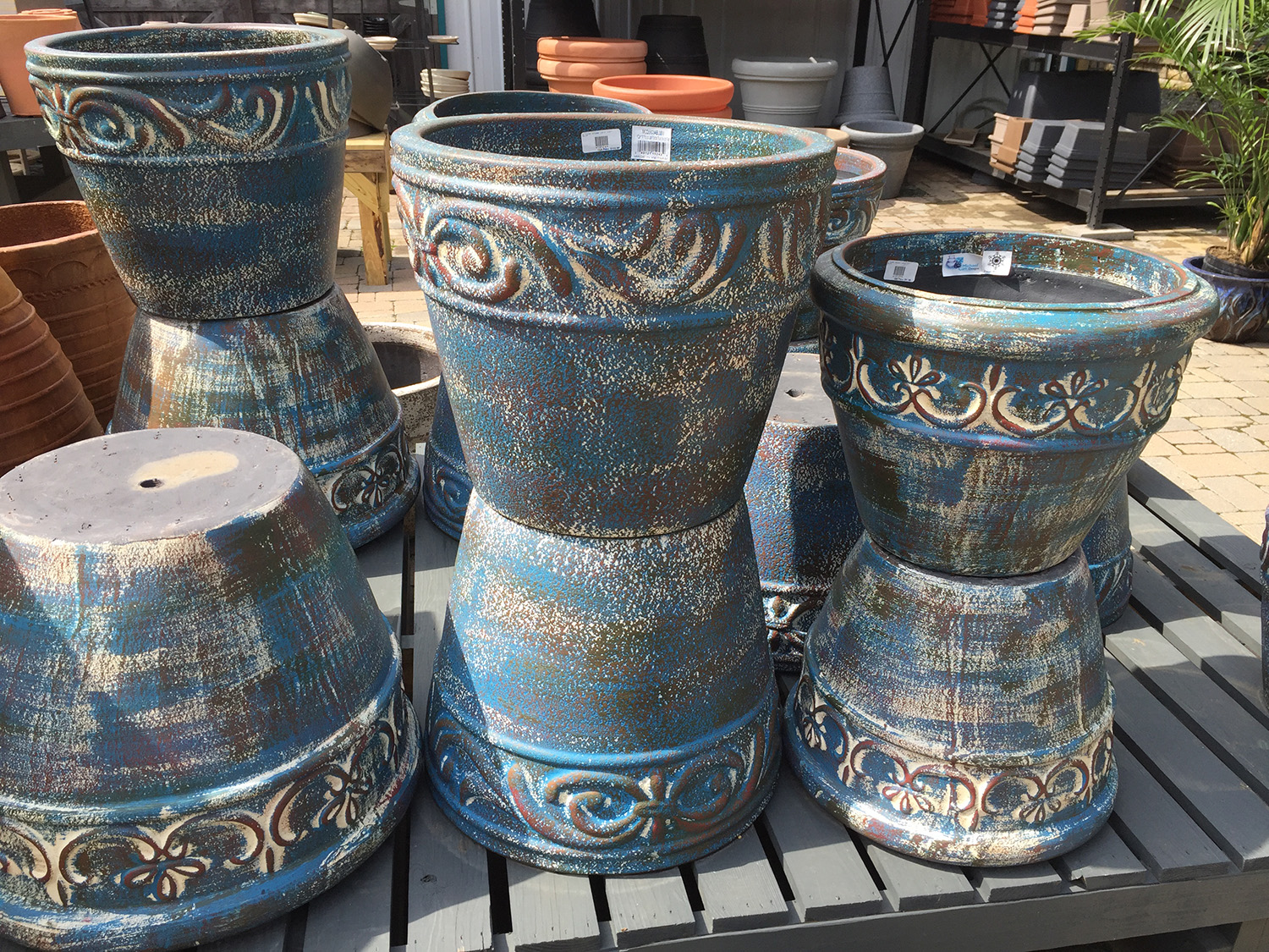 Outdoor Planters and Pottery for Sale at Patuxent Nursery