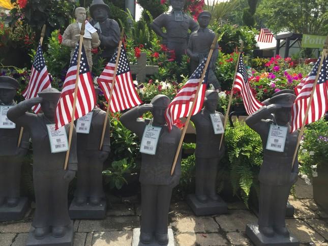 Outdoor Soldier Garden Statues