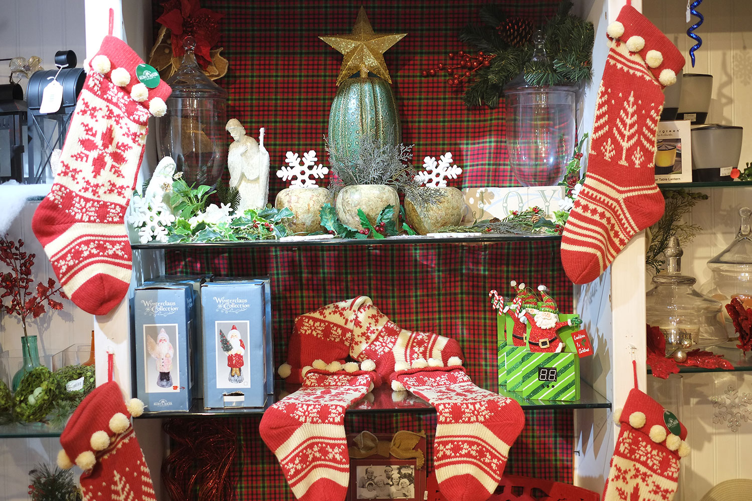 Christmas Gift Shop at Patuxent Nursery