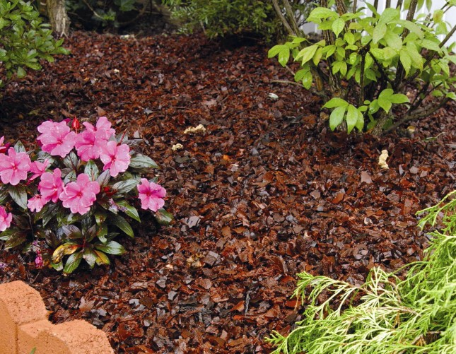 Rubber Mulch for Sale at Patuxent Nursery