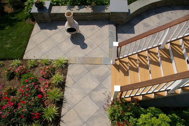 Custom Landscaping at Patuxent Nursery handles any size project with speed, skill and the highest quality level.