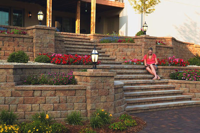 Custom Landscaping Design & Build Services at Patuxent Nursery