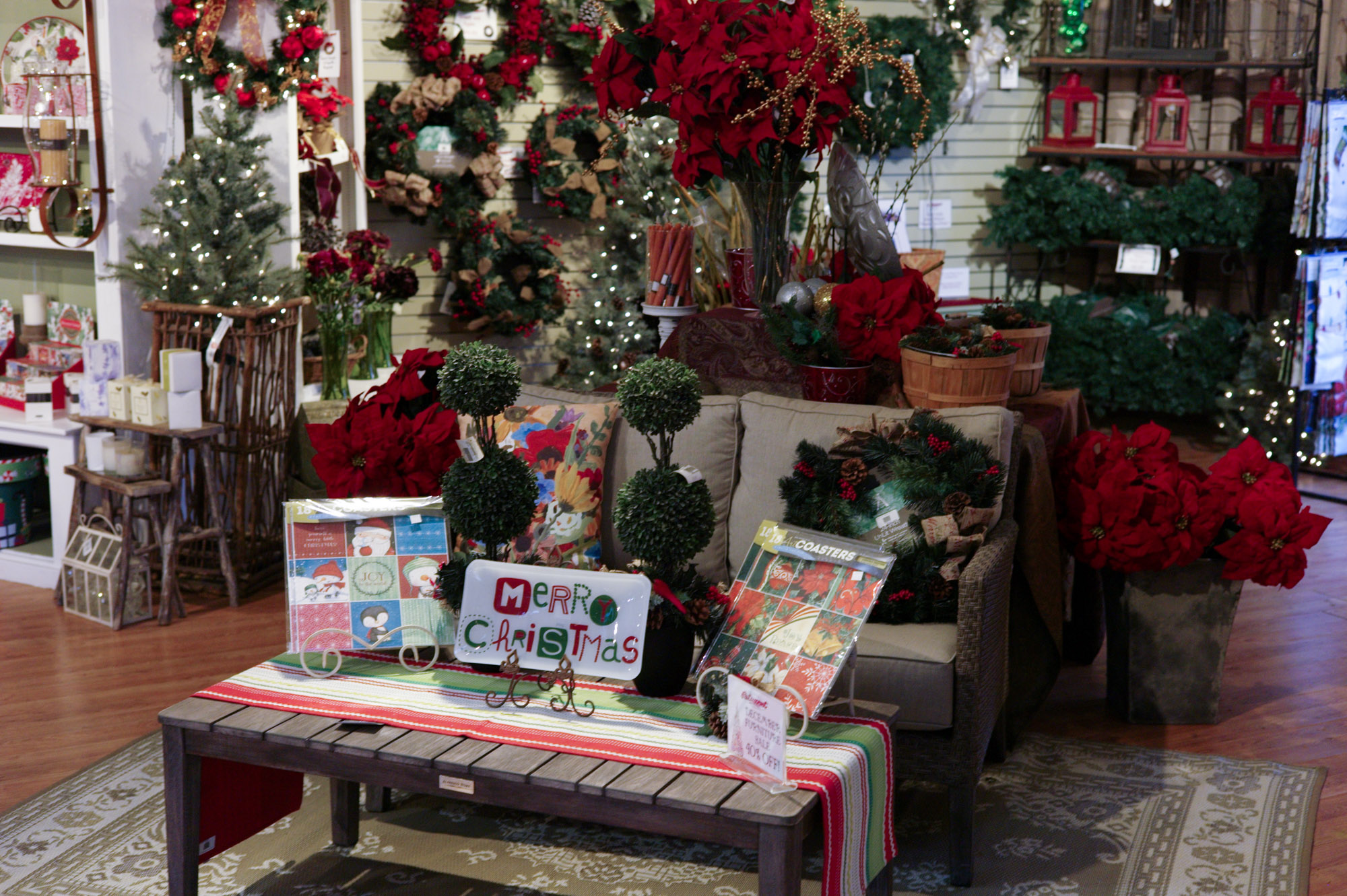 Gift Shop at Patuxent Nursery - Holiday
