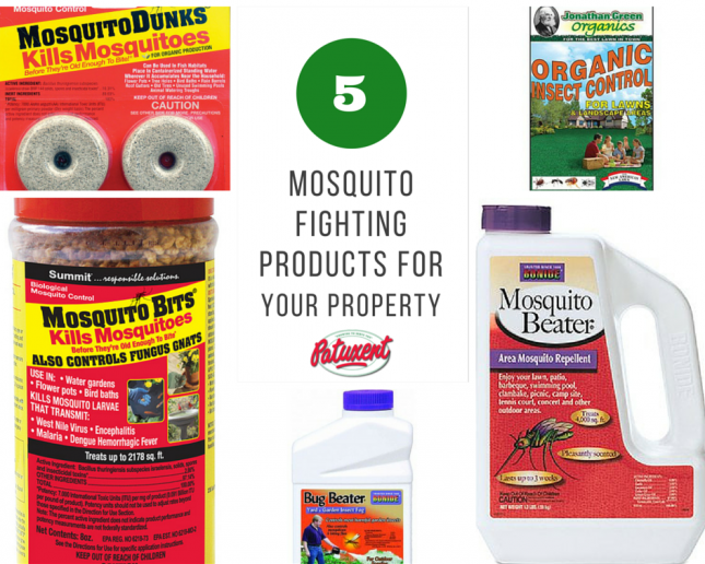 Five Mosquito Fighting Products for Your Property - Patuxent Nursery