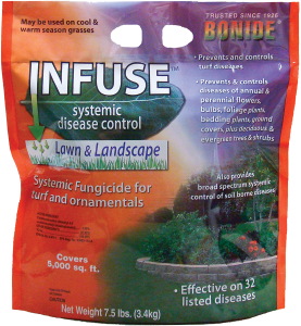 infuse by bonide for treating lawn fungus - Patuxent Nursery
