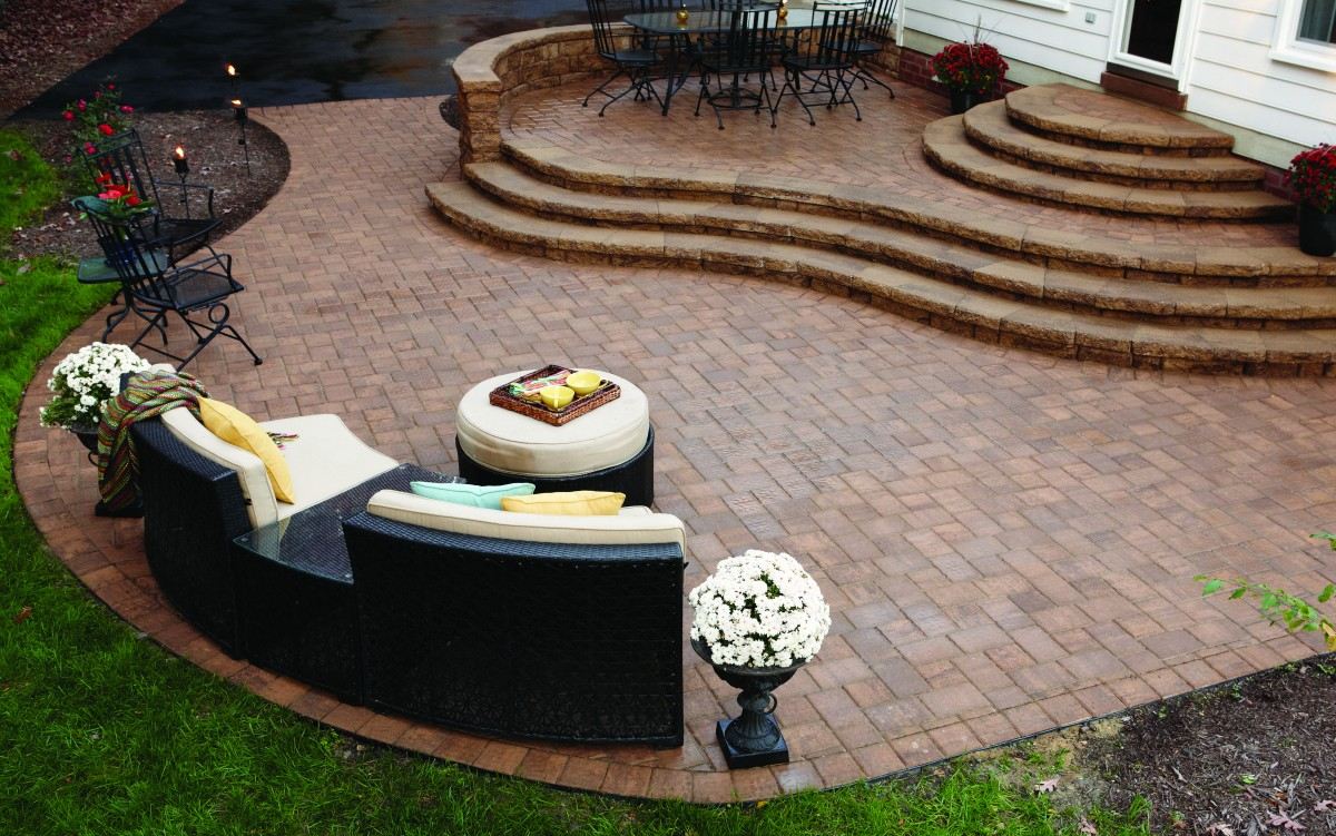 Hardscaping with Cottagestone Option Eagle Bay Pavers, Bowie, MD