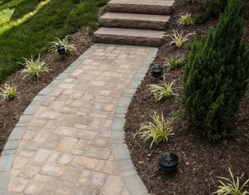 Eagle Bay Pavers at Patuxent Nursery - Eagle Bay Kingsland Traditional Richmond