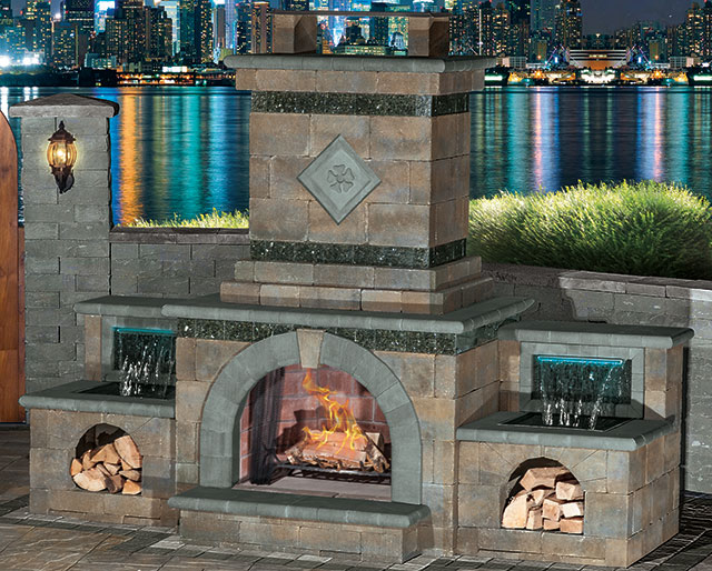 Cambridge Fire Pits & Fireplaces at Patuxent Nursery, Bowie, MD
