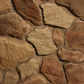 Cambridge Stone Veneer Tuscan fieldstone at Patuxent Nursery, Bowie, MD