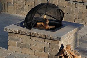 Cambridge Wood Burning Fire Pit available at Patuxent Nursery in Bowie, MD