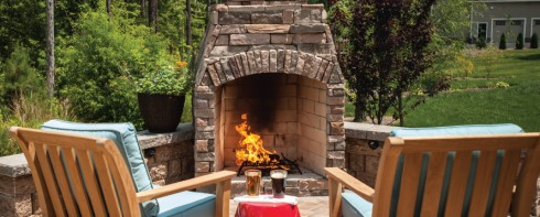 Eagle Bay Fire Pits & Fireplaces at Patuxent Nursery in Bowie, MD