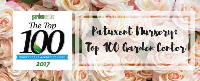 Patuxent Nursery is a Top 100 Independent Garden Center 2017