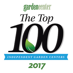 Top 100 Award Winning Garden Center - 2017