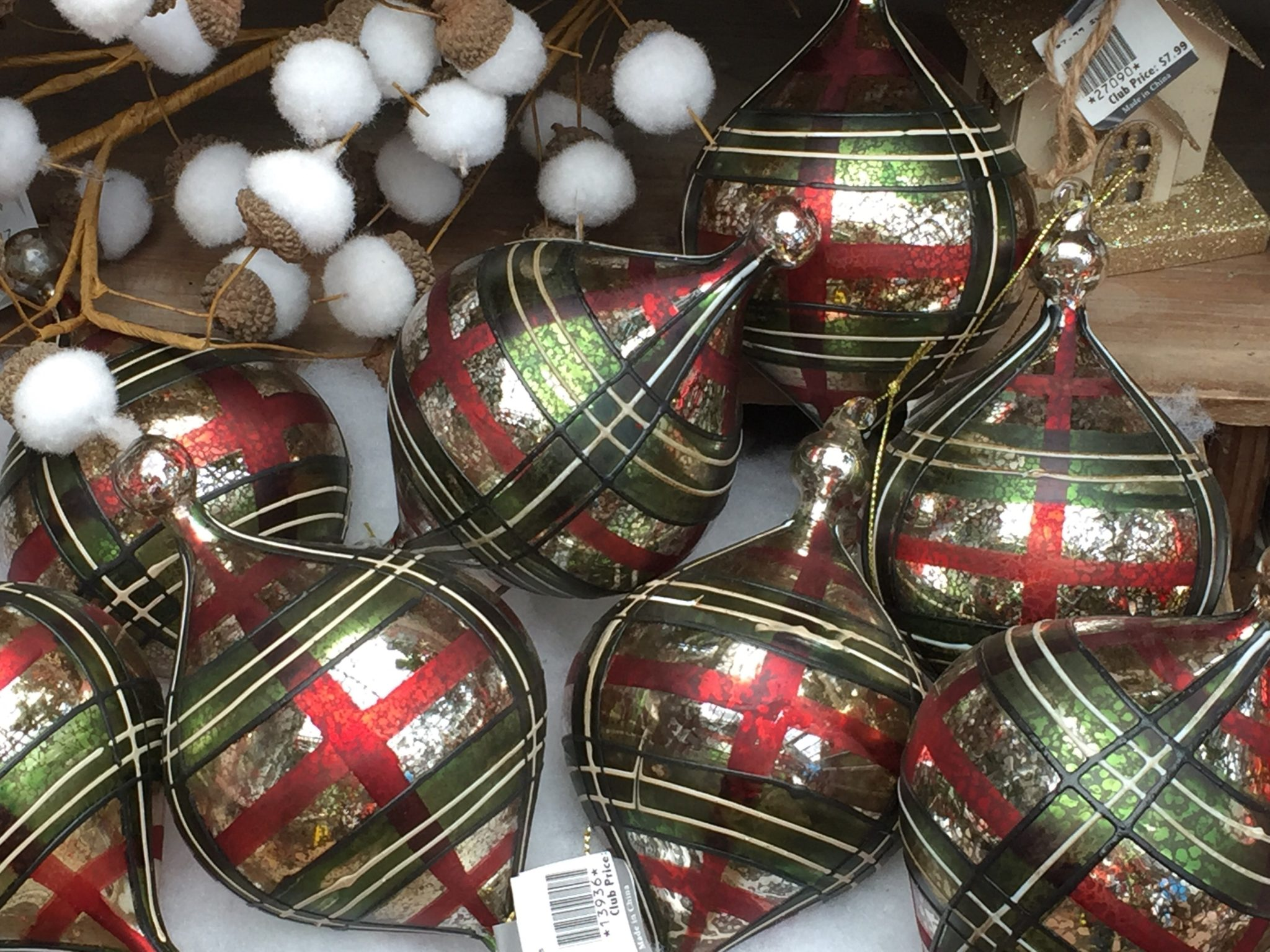 Christmas Ornaments at Patuxent Nursery