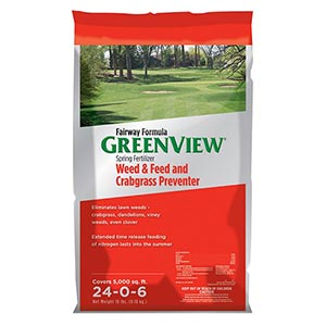 Greenview Weed & Feed Crabgrass Preventer