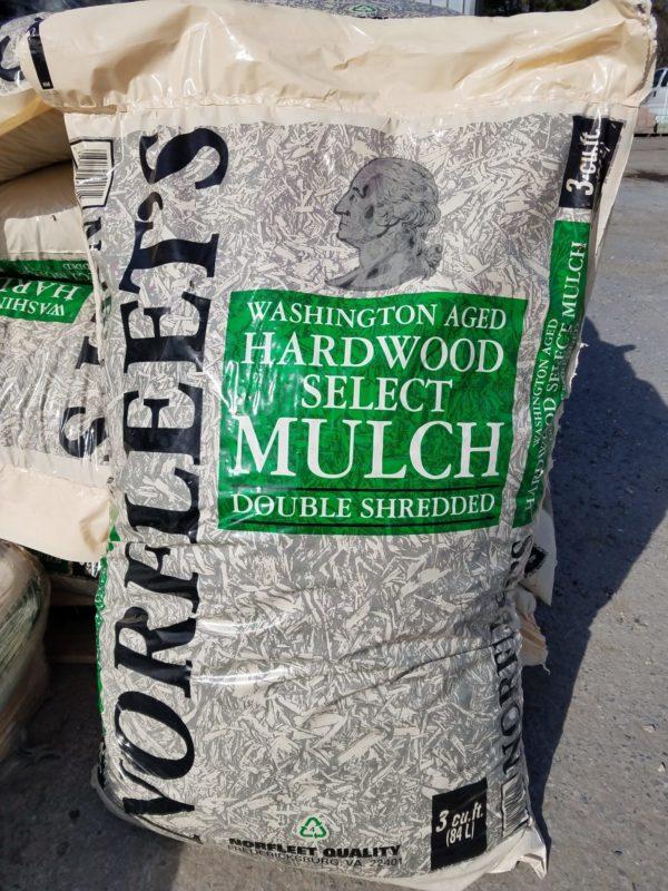 Double Shredded Hardwood Mulch