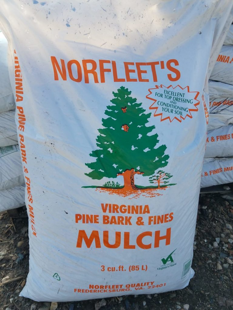 Virginia Pine Bark Fines Mulch