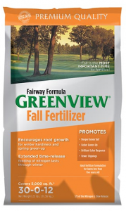 Fairway Formula Greenview Fall Fertilizer