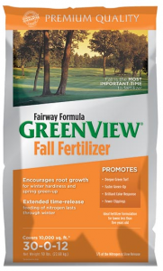 Green View Fairway Formula Fall 10,000 sq. ft.