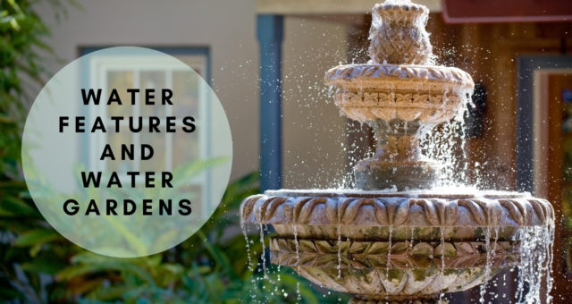 Better your Backyard Design with Water Features and Water Gardens