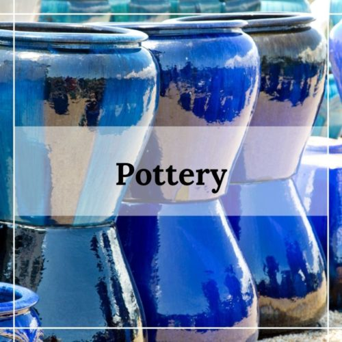 outdorr pottery from patuxent nursery