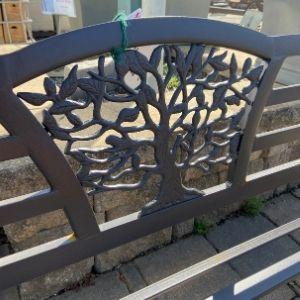 decorative outdoor garden bench