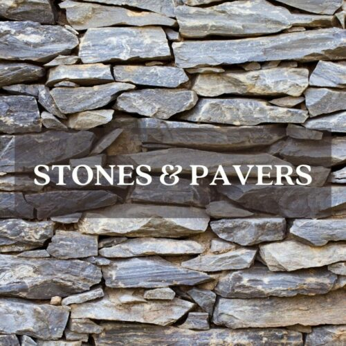 stacked flagstones