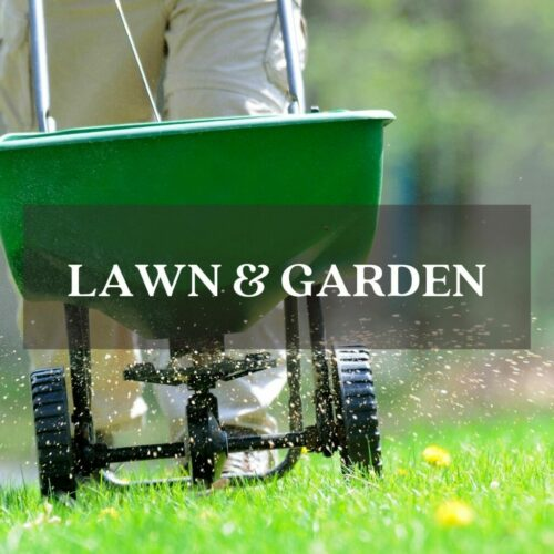 spreading grass seed in fall lawn and garden category link