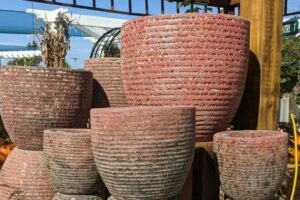 outdoor terra cotta pottery for large planters