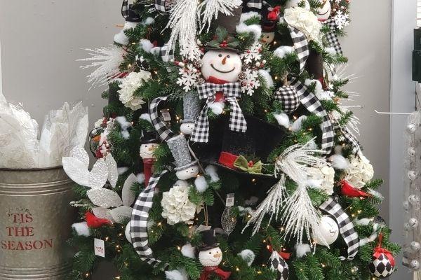 tree full of cute christmas ornaments