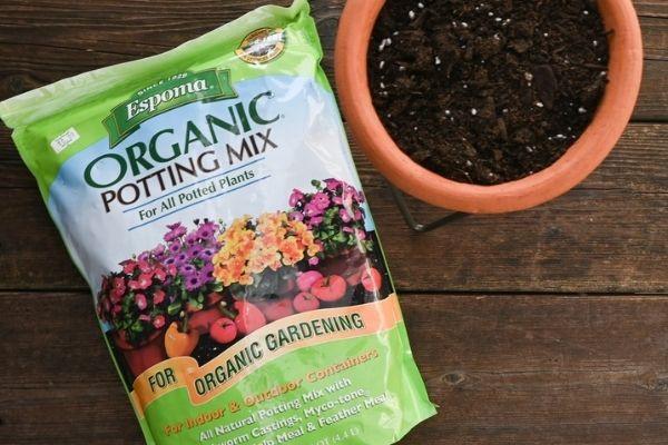 espoma potting soil
